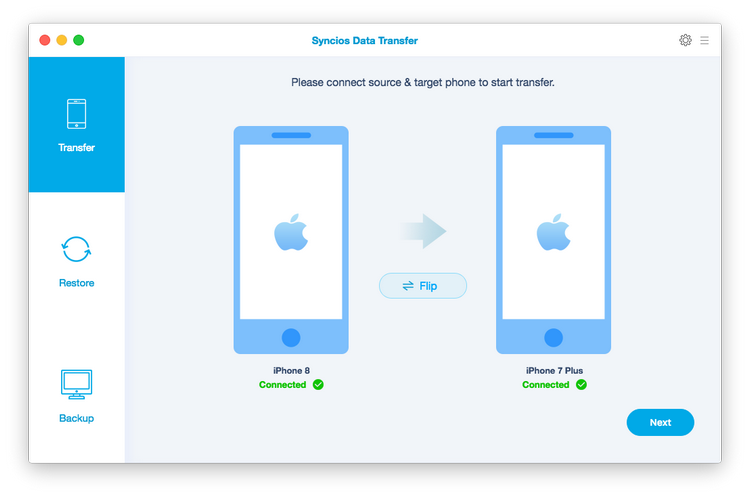 data transfer for mac